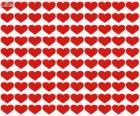 100 serc, sto serc, aby świętować Walentynki