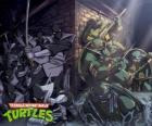 Żółwie ninja w działaniu
