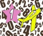 Numer 1 w gwiazdę z samolotu