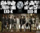 EXO jest chiński koreański boysband
