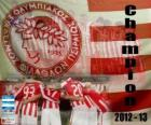 Olympiakos Pireus, Super League 2012-2013 mistrz