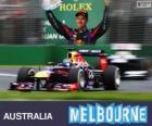 Sebastian Vettel - Red Bull - Grand Prix Australii 2013, 3 klasyfikowane