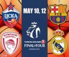 Final Four 2013 Londyn koszykówki Euroliga