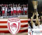 Olympiakos Pireus, Mistrzostwo Euroligi koszykówki 2013