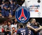 Paris Saint-Germain, PSG, Ligue 1 mistrz 2012-2013, Francja Piłka nożna