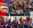 CSKA Moskwa, mistrz rosyjski Piłka nożna Priemjer-Liga 2012-2013