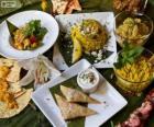 Kilka międzynarodowych potraw