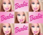 Kolaż z Barbie