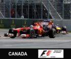 Fernando Alonso - Ferrari - 2013 Grand Prix Kanady, 2 ° sklasyfikowane