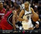2013 NBA Finals, mecz o 3, Miami Heat 77 - San Antonio Spurs 113