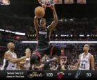 2013 NBA Finals, 4 gry, Miami Heat 109 - San Antonio Spurs 93