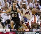 2013 NBA Finals, 7 th gry, San Antonio Spurs 88 - Miami Heat 95
