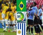 Brazylia - Urugwaj, półfinał, Puchar Konfederacji w piłce nożnej 2013