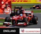 Fernando Alonso - Ferrari - Grand Prix Wielkiej Brytanii 2013, 3 sklasyfikowane