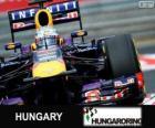 Sebastian Vettel - Red Bull - Grand Prix Węgier 2013, 3 sklasyfikowane