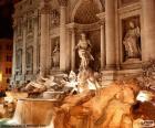 Fontanna di Trevi, Rzym, Włochy