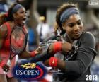 Mistrz Serena Williams nas otwarte 2013