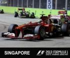 Felipe Massa - Ferrari - Singapur, 2013