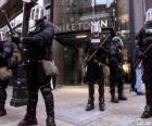 Riot policji