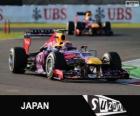 Mark Webber - Red Bull - Grand Prix Japonii 2013, 2 ° sklasyfikowane