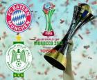 Bayern Monachium vs Raja Casablanca. Koniec Klubowe mistrzostwa świata w piłce nożnej FIFA 2013 Maroko