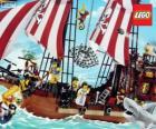 Lego statek piracki