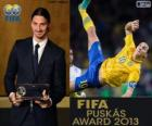 FIFA Puskás Award 2012 do Zlatan Ibrahimovic