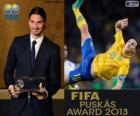 FIFA Puskás Award 2012 do Zlatan Ibrahimovic