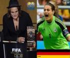 Gracz Świata FIFA kobiet 2013 roku zwycięzcy Nadine Angerer