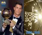 FIFA Ballon d'Or 2013 zwycięzca Cristiano Ronaldo
