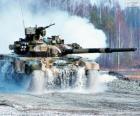 Rosyjski czołg T-90.