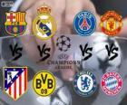 Liga Mistrzów - Liga Mistrzów UEFA 2013-14 Ćwierćfinał