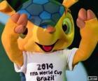 Fuleco, oficjalna maskotka mistrzostw świata 2014 w Brazylii jest pancernik