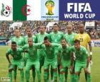 Wybór Algierii, Grupa H, Brazylia 2014