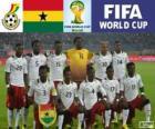 Wybór Ghana, Grupa G, Brazylia 2014