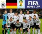 Wybór Niemcy, Grupa G, Brazylia 2014