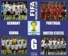 Grupa G, Brazylia 2014