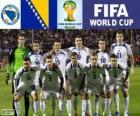 Wybór grupy F, Bośnia i Hercegowina, Brazylia 2014