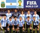 Wybór grupy F, Argentyna, Brazylia 2014