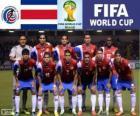 Zaznaczenie, Costa Rica, Grupa D, Brazylia 2014