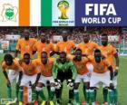 Wybór Wybrzeża Kości Słoniowej, Grupa C, Brazylia 2014