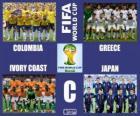 Grupa C, Brazylia 2014