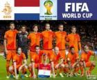 Wybór grupy B, Holandia, Brazylia 2014