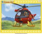 Tom Thomas z jego Wallaby One helikopter