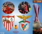 Sevilla vs Benfica. Europa League 2013-2014 finał w Juventus Stadium, Turyn, Włochy
