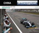 Mistrz Lewis Hamilton 2014 chiński Grand Prix