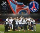 Paris Saint-Germain, PSG, Ligue 1 mistrz 2013-2014, Francja ligi piłki nożnej