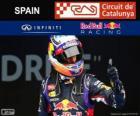 Daniel Ricciardo - Red Bull - Grand Prix Hiszpanii 2014, 3 sklasyfikowane