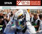Lewis Hamilton, mistrz Grand Prix Hiszpania 2014