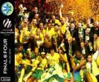 Maccabi Electra Tel Aviv, mistrzem Euroligi koszykówki 2014